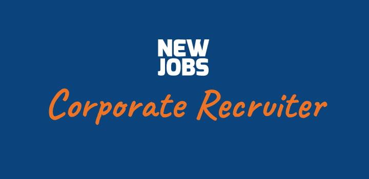 Vacature: Corporate Recruiter