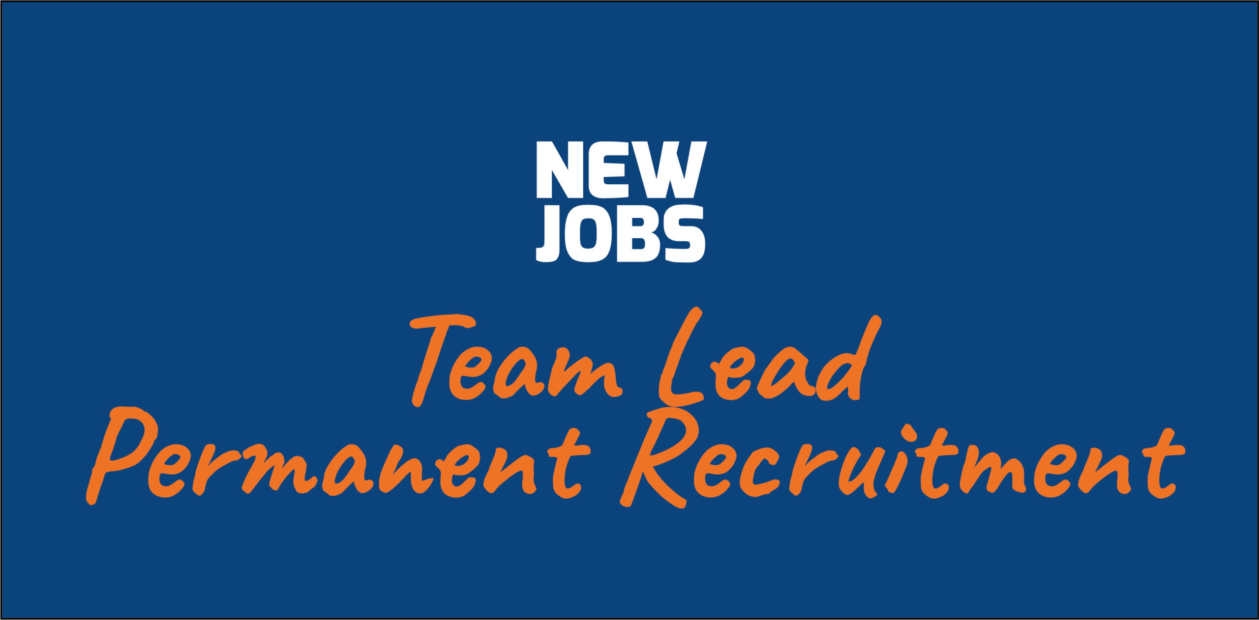 Vacature: Team Lead Permanent Recruitment